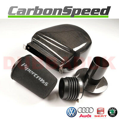 Scirocco Mk3 Tsi Gt 210 Carbon Air Box Induction Intake Kit + Pipercross Filter