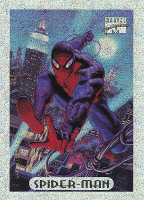 MARVEL MASTERPIECE 1994 EDITION - SPIDER-MAN SILVER HOLOFOIL 8 OF 10