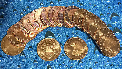 20 Coins • Eagle with Stars Design • 1/2 oz each • .999 Copper Bullion