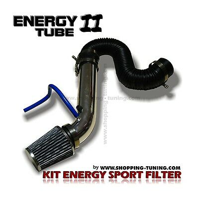 Kit D'admission Directe Sport Auto Filtre A Air + Energy Tube 1 Aluminium
