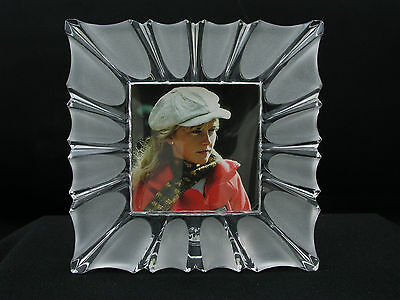 MIKASA MONARCH CRYSTAL FRAME - NEW IN BOX - MADE IN AUSTRIA - GORGEOUS