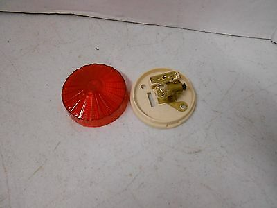 Bargman 30-50-101, 3450101 Red Round Clearance Side Marker Light Lens