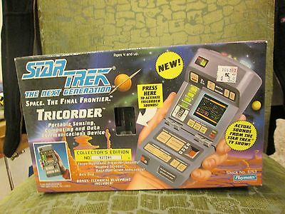 STAR TREK THE NEXT GENERATION SPACE. THE FINAL FRONTIER. TRICORDER