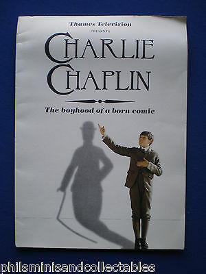 Charlie Chaplin   Thames TV  Promotional Press booklet 1989