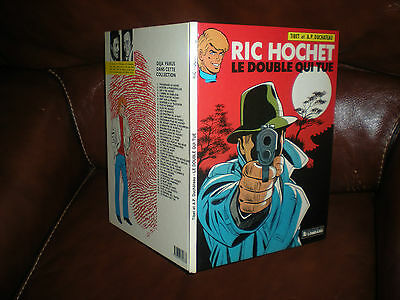 Ric Hochet N°40 Le Double Qui Tue - Edition Originale Dl Mars 1985