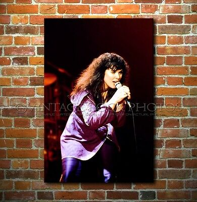 Ann Wilson Heart Poster Size Photo 20x30 in Canon Print Live '70s Concert 56
