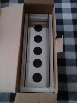 NIB PARTYLITE INFINITE REFLECTIONS PRISM TEALIGHT CANDLE HOLDER P90673