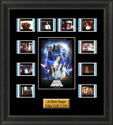 Star Wars A New Hope (1977) Film Cells Movie Cell Filmcells Presentation