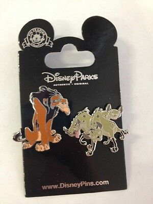 Disney 2014 Scar and the Hyenas-Shenzei, Banzai and Ed 2PC Trading Pin Set