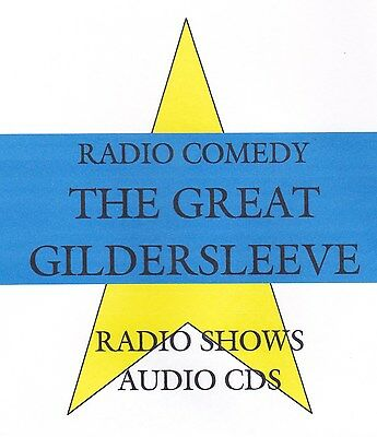 The Great Gildersleeve 4 audio cds radio shows