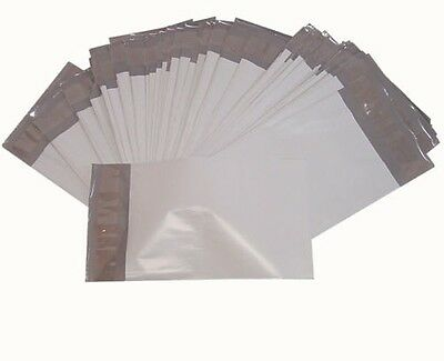 100PCS 14.5x19 2.4MIL Poly Plastic Envelope Shipping Mailing Self Sealing Bags