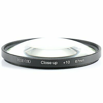 67mm Macro +10 Close-Up Glass Lens Filter For 67mm Front Thread Lenses