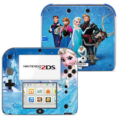 Disney Frozen Vinyl Skin Sticker for Nintendo 2DS - 002