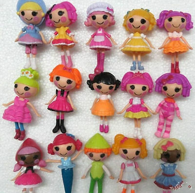 MGA mini Lalaloopsy Doll the bulk button eyes toys for girl classic toys 16PCS