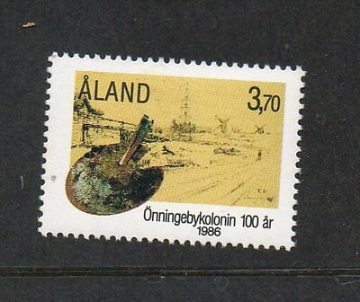Aland 1986 Centenary Onnigeby Artists Colony SG24 unmounted mint stamp