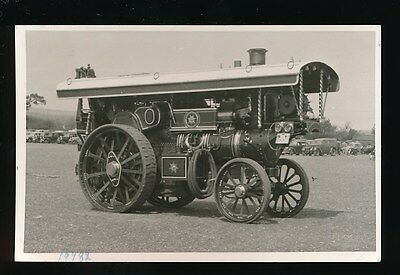Traction Engine Fowler #19782 The Lion at Andover Hampshire 1954 photo