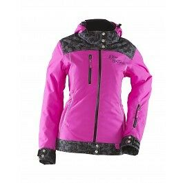 Woman's Lace Collection Purple Snowmobile Jacket by Diva's LACE-COLLECTION-JACKE