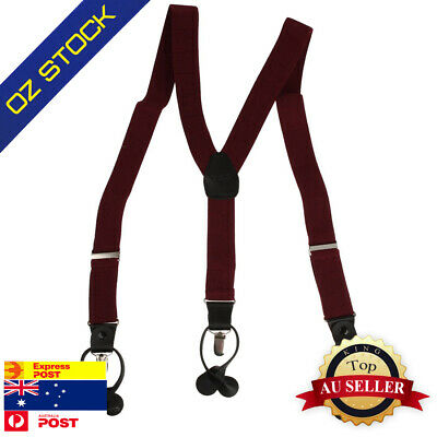 SP2004 Red Checkered Fashion Adjustable Suspender Y-back Perfect Gift By Y&G