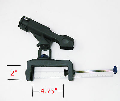 Zaltana Boat rods holder with Large clamp on opening (Can clamp on most boat)RH3