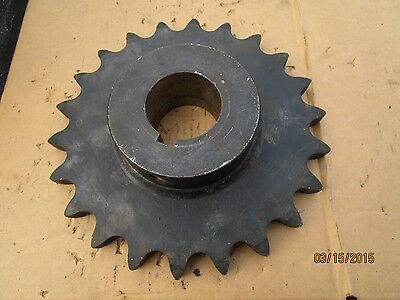 Martin Gear 100B22, Reborable Sprocket,100 Chain, 22 Teeth, 2.225 Bore, 2 1/8 ID