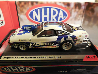 AUTO WORLD ~ALLEN JOHNSON MOPAR PRO STOCK CAR ~ IN JEWEL CASE ~ FITS AFX, AW, JL