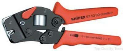 Knipex 97 53 09 Crimping Pliers Bootlace Ferrules. 0,08-16mm2 / AWG 28-5