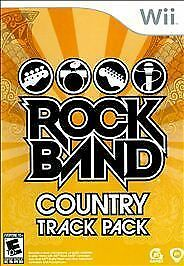 Rock Band: Country Track Pack  (Nintendo Wii, 2009) New & Sealed FREE SHIPPING