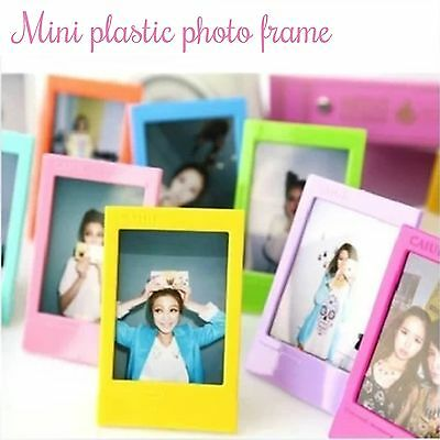 Standing Frame For Fuji Film Instant Camera Polaroid Instax Mini 7 8 90 Photo