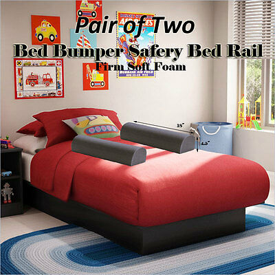 "Boy and Girl Child's Portable Bed Baby Bumper Pad Guard Rail 18 Inch (9""x4.5"")"