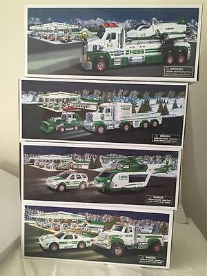 Hess 2011,2012,2013,2014 Toy Trucks All Brand New Out Of A Cases With Batteries