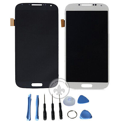 LCD Display Touch Screen Digitizer Assembly and Tool For Samsung Galaxy S4 i9500