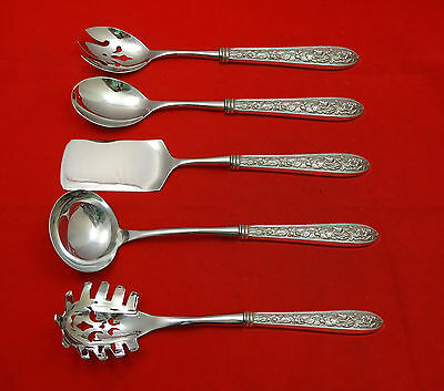 Corsage by Steiff Sterling Silver Hostess Set 5pc HHWS Custom Made