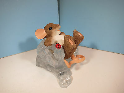 CHARMING TAILS MICE-You're The Coolest-  Mouse Figurine-New