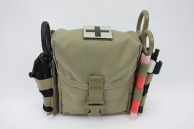 Tan 499 Ifak Gp Pouch Enhanced Gi Issue Size Molle 100% Made In The Usa Mil Spec