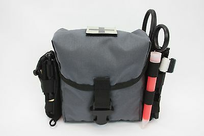 AAT Urban Wolf Tactical Grey Gray IFAK Pouch Enhanced Issue Size MOLLE Spec USA