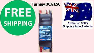 Turnigy 30A Amps ESC BRUSHED BEC Mode Speed Controller RC Plane Car Quad