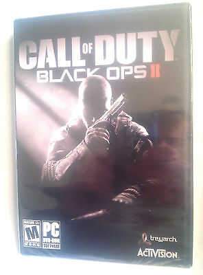CALL OF DUTY BLACK OPS 2  PC  factory sealed USA  DISK!! version Free Shipping