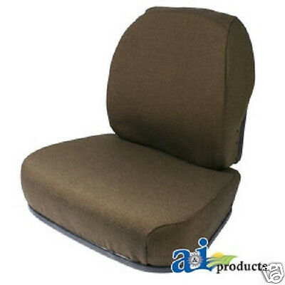 Brown Fabric Seat Cushion Set John Deere 6000 Hi-Cycle Sprayer  #gt