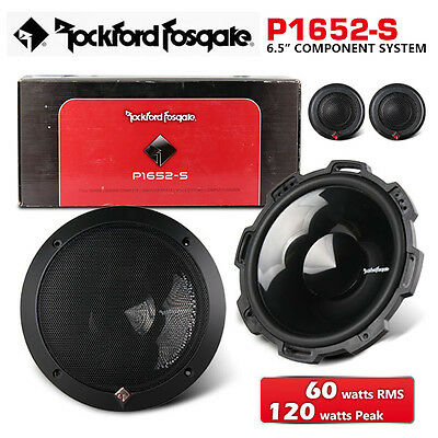 """NEW ROCKFORD FOSGATE P1652-S 6.5"""" Punch Series Component System"""