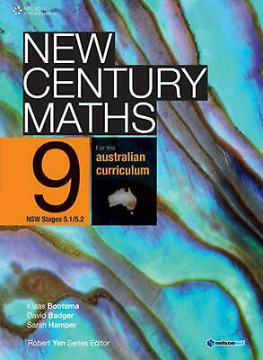 New Century Maths 9 for the Australian Curriculum NSW Stage 5.1/5.2 (Student Boo