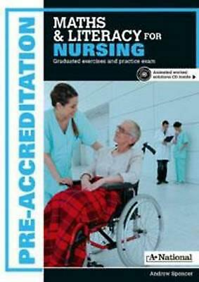 A+ Pre-apprenticeship Maths and Literacy for Nursing by Andrew Spencer Free Ship