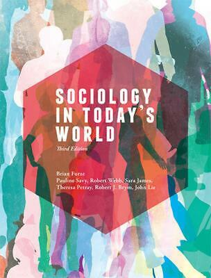 Sociology in Today's World - with Student Resource Access 12 Months 3rd Edition
