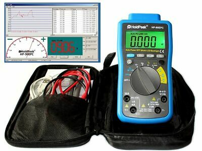 USB Digital Multimeter Batterietester Win10 Software Kapazität Temperatur