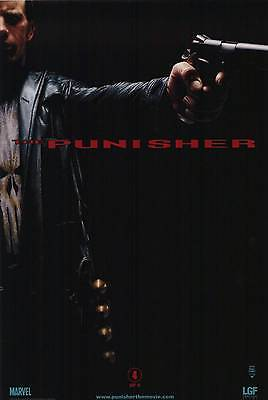 """THE PUNISHER """"D"""" 13.5x20 PROMO MOVIE POSTER"""