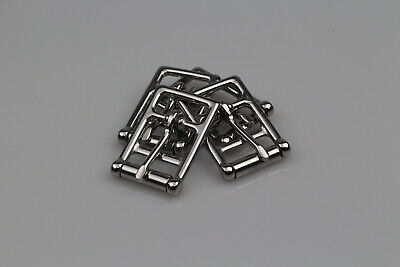 "Girth buckle 4 x 25mm or 1"" buckle horse rugs girths steel/nickel plated"
