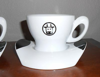 Bialetti - Italy - Essse Caffe Coffee Cappuccino 1 Cup & 1 Saucer - New