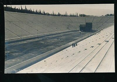Greece ATHENS 1906 Olympics The Stadium RP PPC