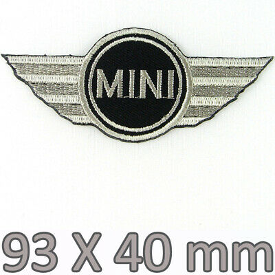 1x Mini Cooper Embroidered Iron On Patch Clubman Convertible Countryman Roadster