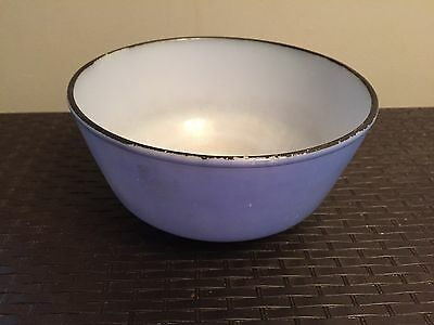 Vintage Anchor Hocking / Fire King Nesting Bowl ~ Blue ~ 8 Cup