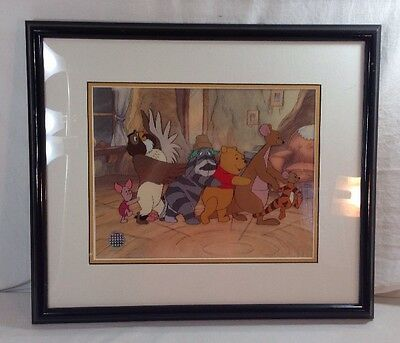 "Disney Winnie the Pooh ""FUN TO BE A TIGGER"" Framed Serigraph Ltd. Ed. of 2500"
